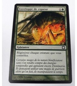 carte magic the gathering mtg - enveloppe de vigueur - vision avenir - commune