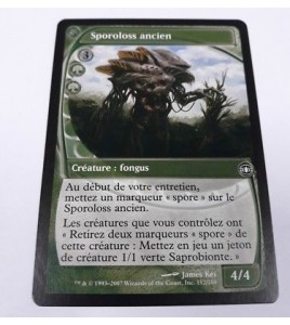 carte magic the gathering mtg - sporoloss ancien - vision de l'avenir - 152180