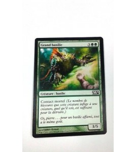 Grand basilic Magic 2011 n°180 Foil (Français) MTG Magic NM
