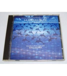 CD B.O FILM LE GRAND BLEU  ERIC SERRA  LUC BESSON
