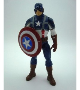 Captain America figurine figure 2011 Marvel Hasbro 20cm