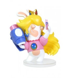 Mario + The Lapins Crétins Kingdom Battle figurine PVC Rabbid-Peach 8 cm
