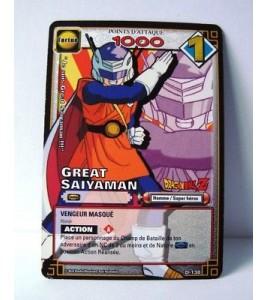 CARTE DRAGON BALL Z - GREAT SAIYAMAN - D-138