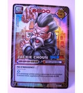 CARTE DRAGON BALL Z - JACKIE CHOUN - D-338 - HOLO