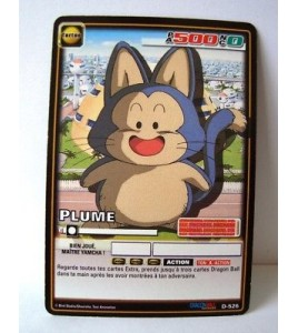 CARTE DRAGON BALL Z - PLUME - D-526