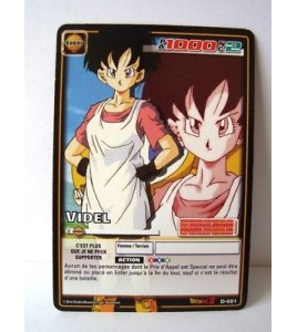 Videl - D-681 - Carte Dragon Ball Z Série 7
