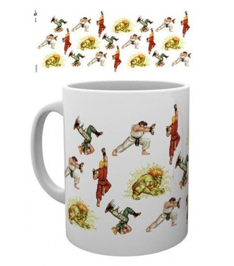 Street Fighter mug Sprites