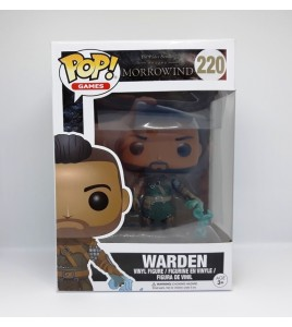 Figurine Pop Funko The Elder Scrolls Online Morrorwind - Pop Vinyl  220 Warden 9 cm