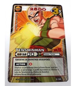 CARTE DRAGON BALL Z - TENSHINHAN - D-168