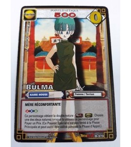 Carte Dragon ball Z Bulma D-373