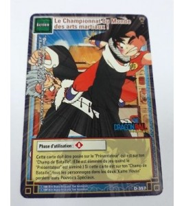 CARTE Dragon ball Z CHAMPIONNAT DU MONDE DES ARTS MARTIAUX D-357