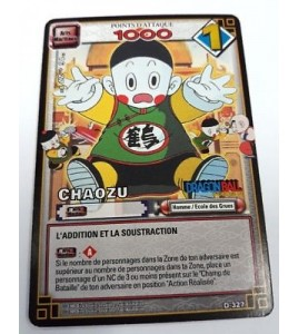 CARTE Dragon ball Z CHAOZU D-327