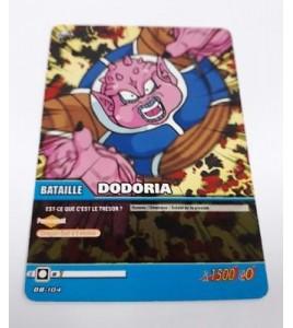 Carte Dragon ball Z Dodoria DB-104