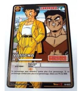 Carte Dragon Ball Z Yamcha D-823