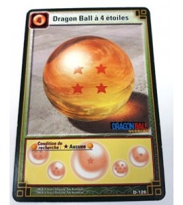 Dragon Ball A 4 Etoiles - D-126 - Carte Dragon Ball Z Série 9