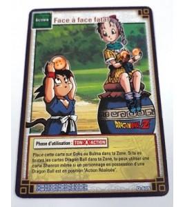 Face A Face Fatal - D-605 - Carte Dragon Ball Z Série 5