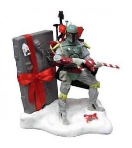 Star Wars - Figurine Christmas Boba Fett Santa Claus Han Solo