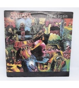 DISQUE 45T DE SANTANA  SAY IT AGAIN