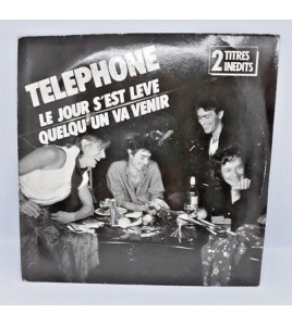 Vinyle 45T Téléphone Le jour s'est levé