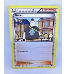 Carte Pokémon - DRESSEUR - TIERNO 107119 SUPPORTER - XY - Vigueur Spectrale