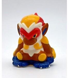 figurine nintendo pokemon bandai 2007 - simiabraz infernape goukazaru