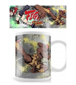 Street Fighter mug Camy Fight Dhalism