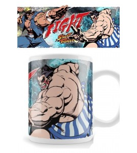 Street Fighter mug Thawk Fight Honda