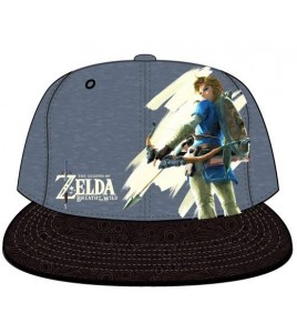 The Legend of Zelda Breath of the Wild casquette Snap Back Link