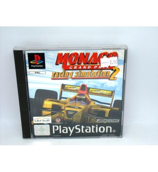 Monaco Grand Prix Racing Simulation 2 sur Playstation 1