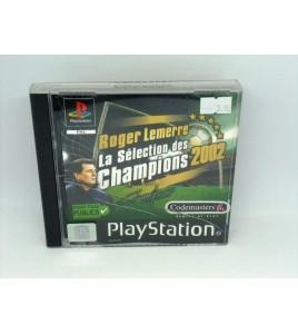 Roger Lemerre La Sélection des Champions 2002 sur Playstation 1