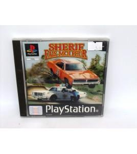 Sherif Fais Moi Peur sur Playstation 1