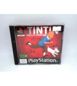 Tintin-Objectif Aventure sur Playstation 1