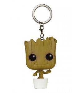 Les Gardiens de la Galaxie porte-clés Pocket POP! Vinyl Dancing Groot 4 cm