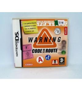 Warning Code de La Route sur Nintendo DS