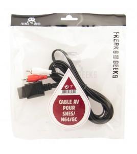 Câble Vidéo Péritel Super Nintendo / Nintendo 64 / Gamecube