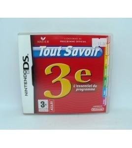 Tout Savoir 3e sur Nintendo DS