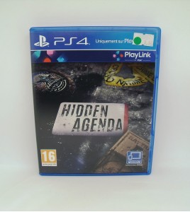 Hidden Agenda sur PS4 (Playstation 4)