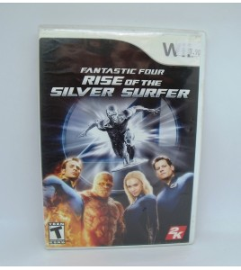 Fantastic Four Rise of The Silver Surfer sur Nintendo Wii