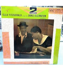 Ella Fitzgerald sings the Duke Ellington - song book - 2 disques vinyles