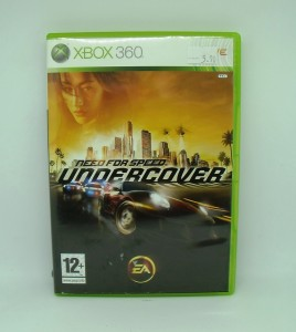 Need For Speed Undrcover sur XBOX 360 Avec Notice