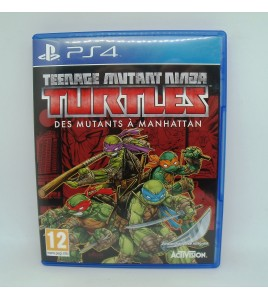 Teenage Mutant Ninja Turtles Des Mutants à Manhattan sur PS4 (Playstation 4) Sans Notice