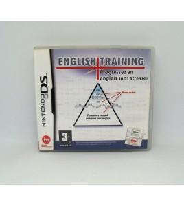 English Training Progressez en Anglais sur Nintendo DS Avec Notice