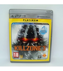 Killzone 3 Platinum sur PS3 Playstation 3 Avec Notice