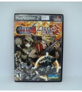 Metal Slug 4/5 version US  sur PS2  Avec Notice