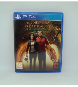 Les Chevaliers de Baphomet 5 La Malédiction du Serpent sur PS4 Playstation 4 Sans Notice