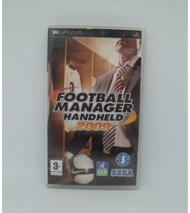 Football Manager Handheld 2009 sur Psp Playstation Portable  Avec Notice
