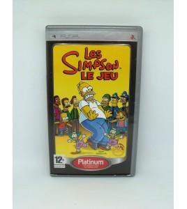 Les Simpson Le Jeu Platinum sur Psp Playstation Portable  Avec Notice