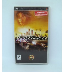 Need For Speed Undercover sur Psp Playstation Portable  Avec Notice