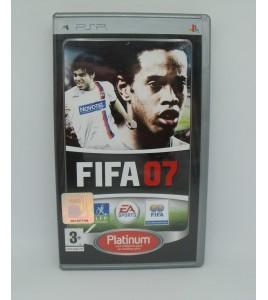 Fifa 07 Platinum sur Psp Playstation Portable  Avec Notice