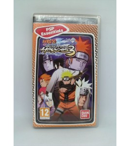 Naruto Shippuden Ultimate Ninja Heroes 3 Essentials sur Psp Playstation Portable  Avec Notice